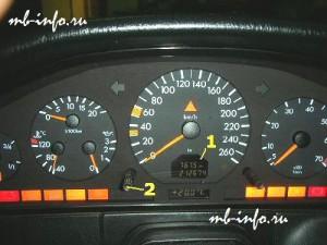сброс сервисного интервала W140/R129
