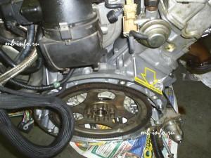 Номер двигателя M112